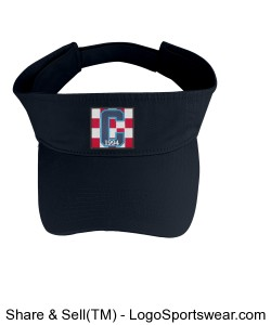 Class of 94 Navy Visor Design Zoom