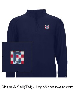 Class of 94 Pullover Navy Design Zoom