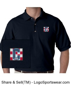 Class of 94 Polo Navy Design Zoom