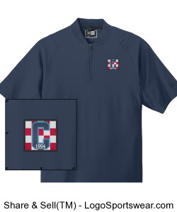 Class of 94 SS Wind Shirt Navy Design Zoom