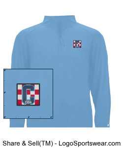 Class of 94 Logo Pullover Blue Design Zoom