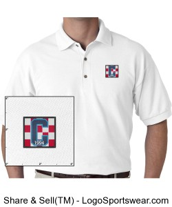 Class of 94 Polo White Design Zoom